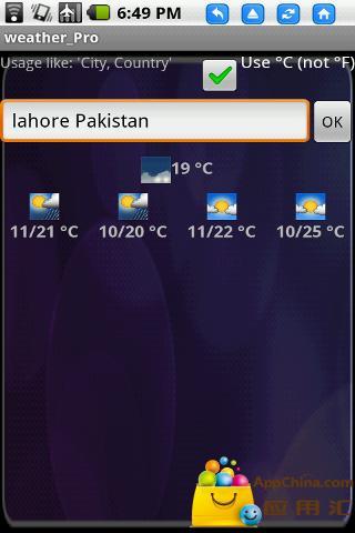 Android天气预报 免费版
