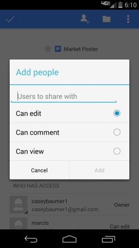 【免費生產應用App】Google文档-APP點子