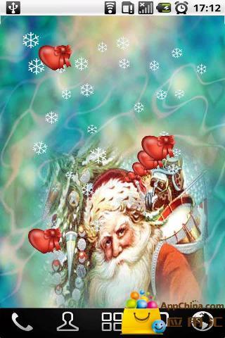 【免費個人化App】圣诞老人壁纸-APP點子