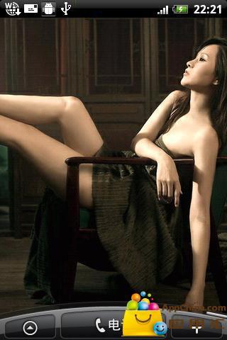 性感美女嫩模动态壁纸