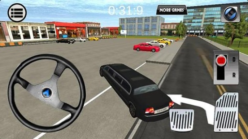 3D停车模拟器