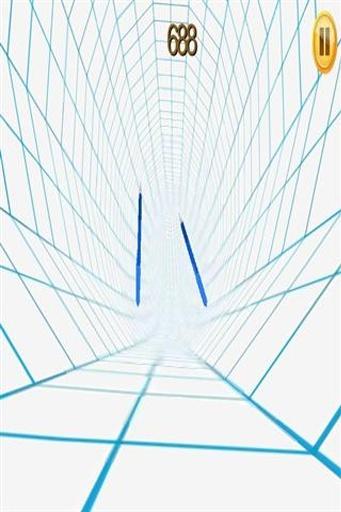 隧道背景矢量图