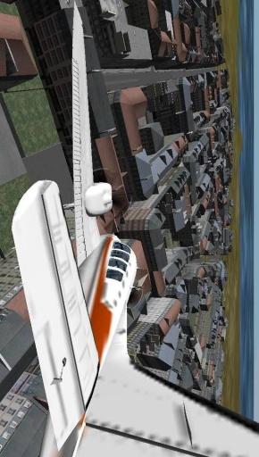 飞机三维飞行模拟