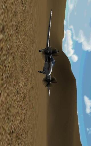 飞机三维飞行模拟截图1