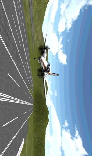 飞机三维飞行模拟截图2