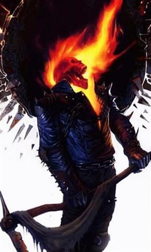 恶灵骑士骷髅死神壁纸
