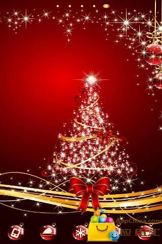 圣诞火树银花主题