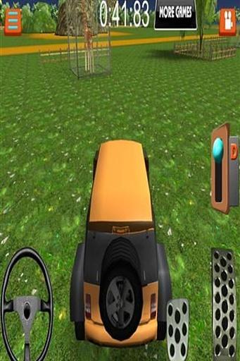 模拟动物园停车