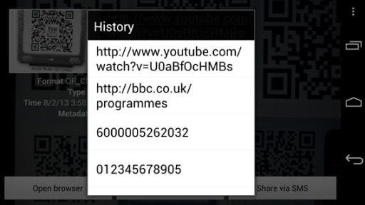 条码 二维码扫描器截图5