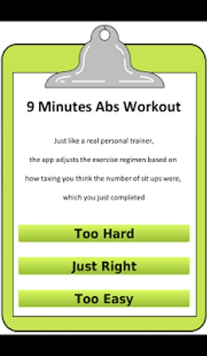 9 分钟腹部肌肉锻炼
