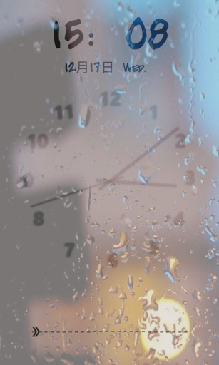 雨滴九宫格锁屏