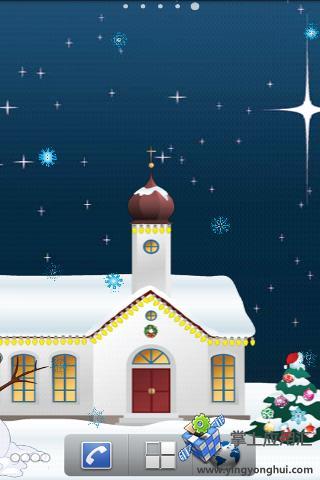 圣诞小镇动态壁纸