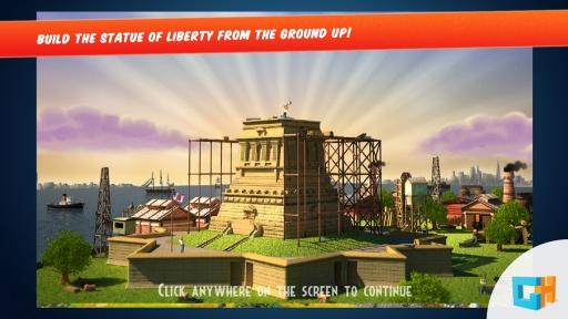 纪念碑建造者:自由女神像截图1
