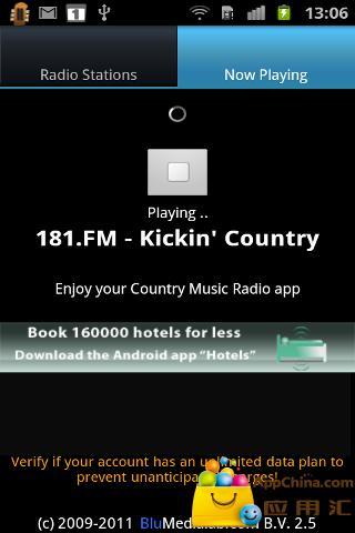 【免費媒體與影片App】Country Music RADIO(乡村音乐收音机)-APP點子