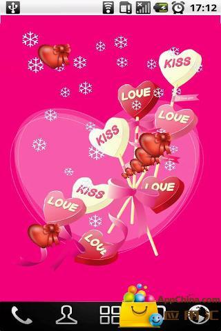 甜蜜爱情动态壁纸
