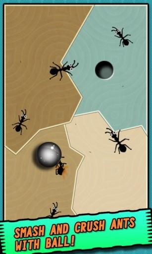 铁球大战蚂蚁截图1