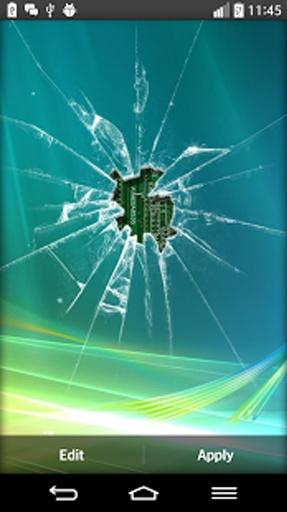 碎玻璃的动态壁纸截图0