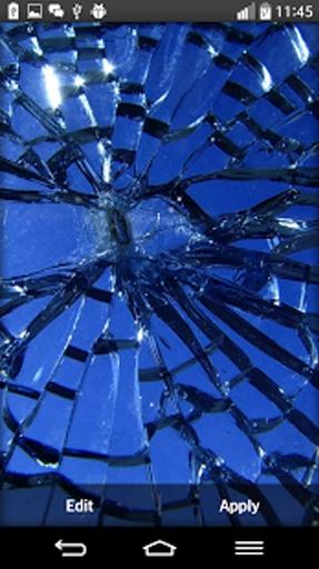 碎玻璃的动态壁纸截图1