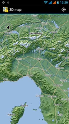 3d 地图 格鲁吉亚