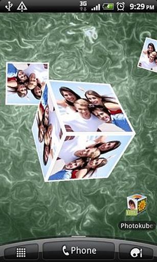 立方体生活照片壁纸