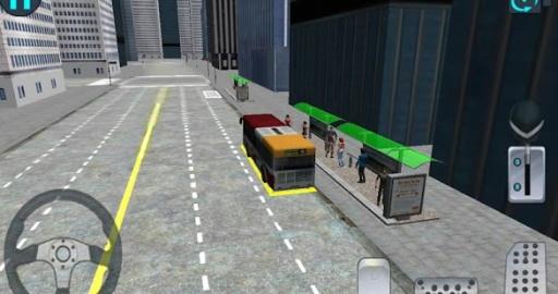 3D城市驾驶 - 巴士停车场截图1