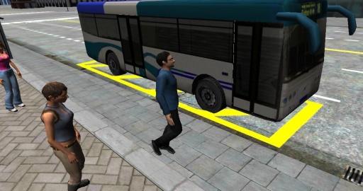 3D城市驾驶 - 巴士停车场截图10