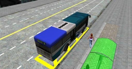 3D城市驾驶 - 巴士停车场截图2