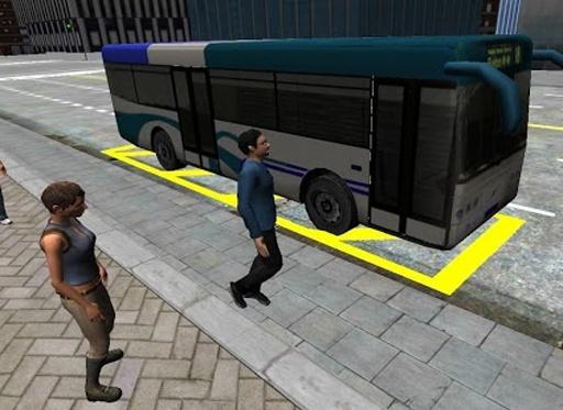 3D城市驾驶 - 巴士停车场截图3