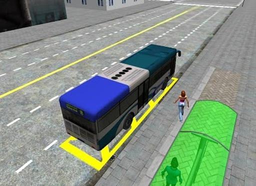 3D城市驾驶 - 巴士停车场截图4