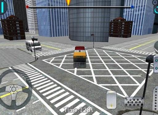 3D城市驾驶 - 巴士停车场截图5