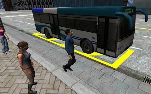 3D城市驾驶 - 巴士停车场截图6