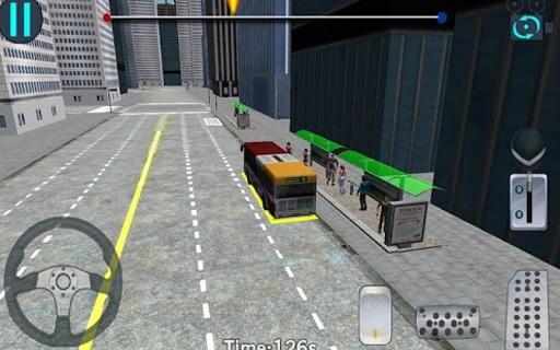 3D城市驾驶 - 巴士停车场截图7