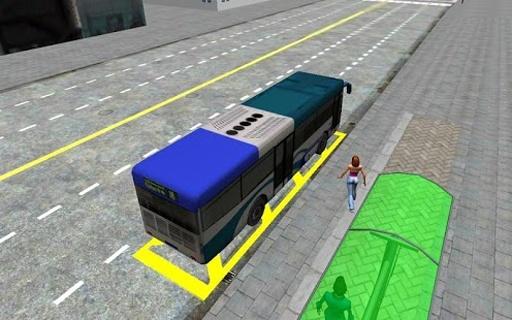 3D城市驾驶 - 巴士停车场截图8