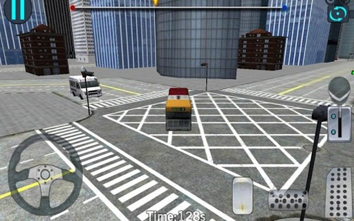 3D城市驾驶 - 巴士停车场截图9