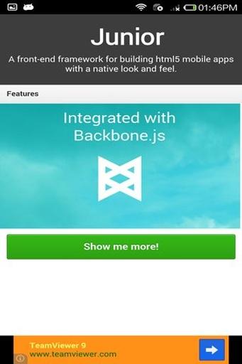 HTML5框架合集工具箱截图2