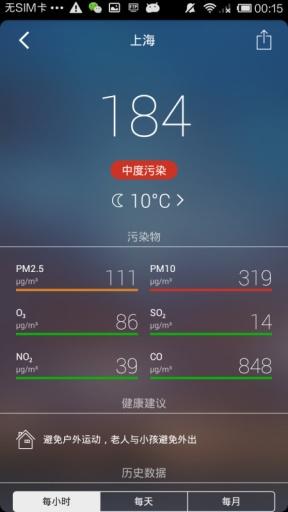 空气污染指数截图0