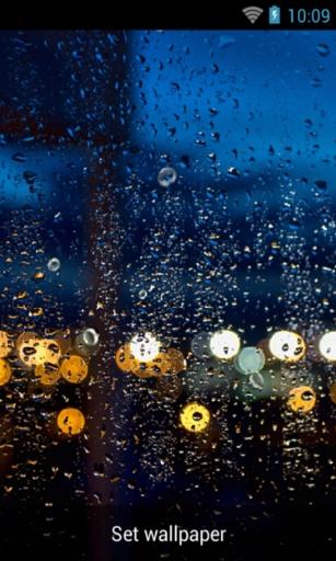雨天玻璃窗|玩個人化App免費|玩APPs