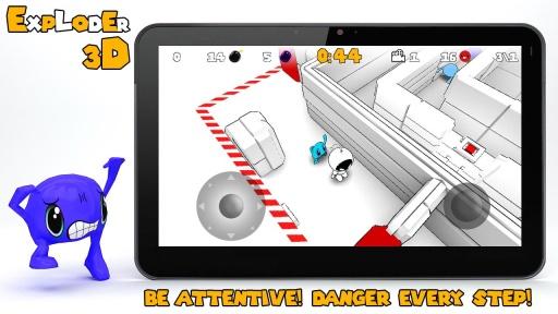 炸弹人3D 益智 App-愛順發玩APP