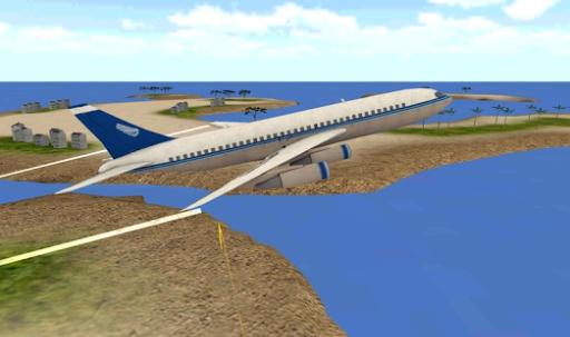 Flight Simulator: Fly Plane 3D截图1