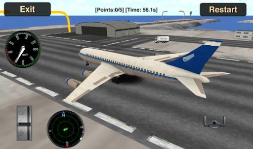 Flight Simulator: Fly Plane 3D截图2