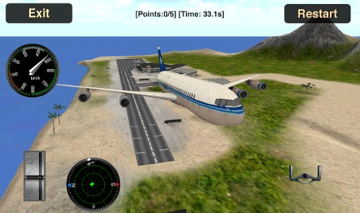 Flight Simulator: Fly Plane 3D截图5