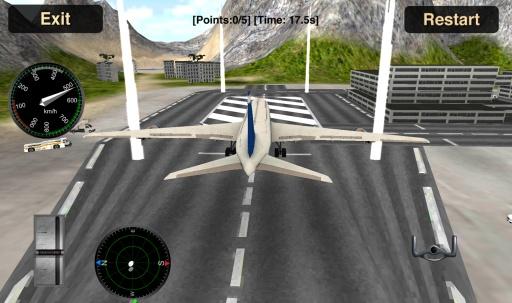 Flight Simulator: Fly Plane 3D截图9
