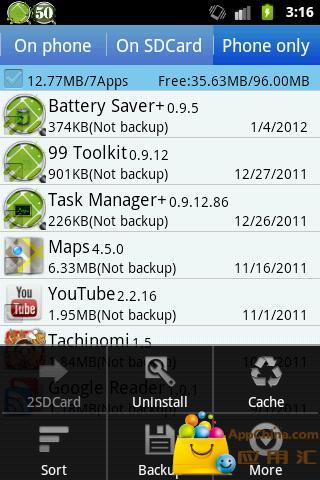 [Root] Move All Apps To SD Card With DroidSail Super App2SD Lite