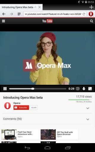 Opera浏览器截图2