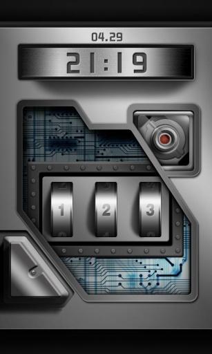 高科技密码锁_FUN锁屏
