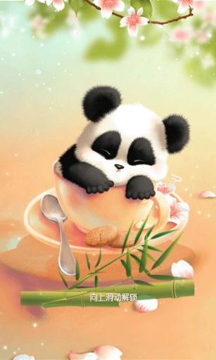 熊猫主题 锁屏桌面壁纸