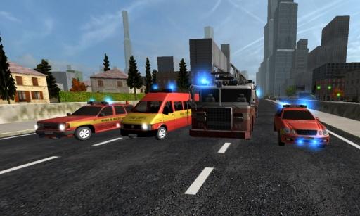 Duty Driver Firetruck LITE截图8