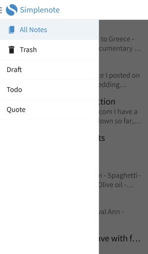 Simplenote简单笔记