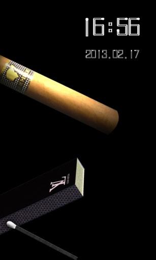 一支烟_FUN主题锁屏壁纸