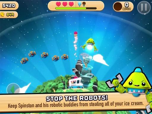 玩免費射擊APP|下載机器人爱冰淇淋 app不用錢|硬是要APP